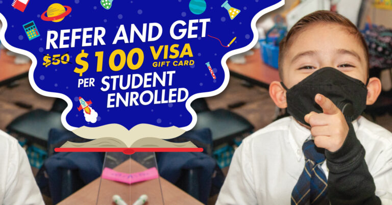 Refer and get $100 per student enrolled