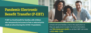 andemic-EBT (P-EBT) Due to COVID-19
