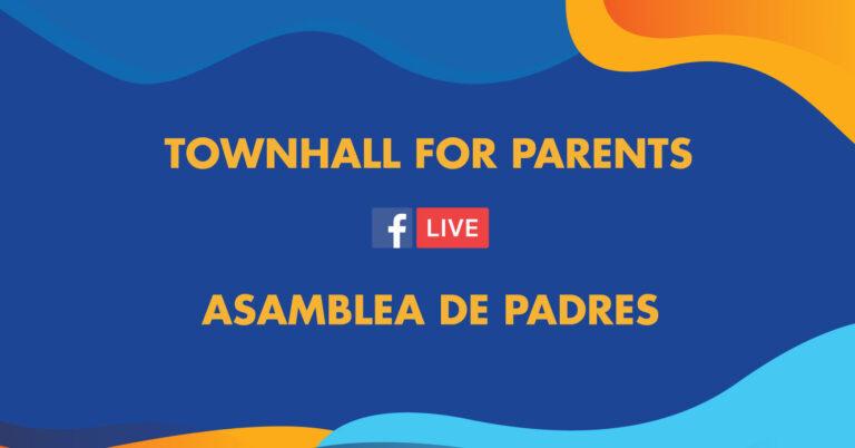 Asamblea de padres. Importantes anuncios sobre 2021-2022.