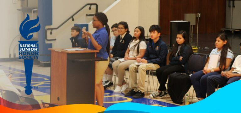 The National Junior Honor Society (NJHS) chapter of East Grand Prep